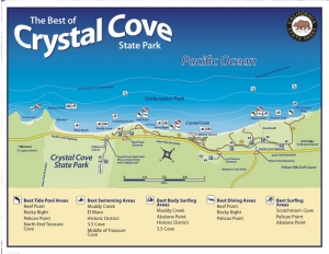 Crystal Cove Map